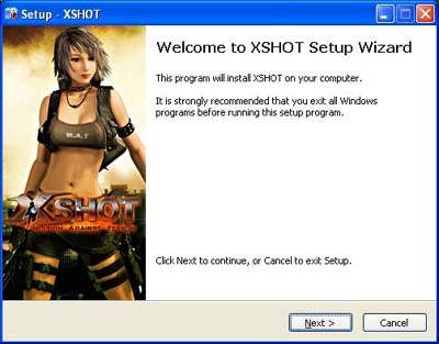 Cara Download, Install & Registration Games Online X SHOT